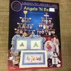 Book - Angels 'N Bears Cross Stitch