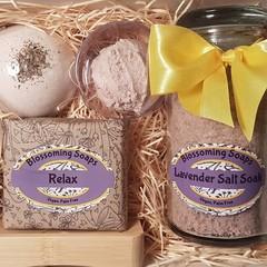 Artisan Lavender Pamper Bath Mother's Day gift