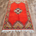 Moroccan Hand knotted Stunning Taznakht Berber Traditional Rug 111cmx195cm