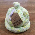 Newborn Gumdrop Beanie - Yellow/Green, speckled