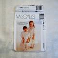 McCalls 7681 Children's dress and slip sewing pattern Size 2, UNCUT