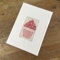 Pink Cupcake Card