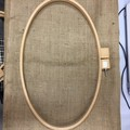 Large Oval Quilting Hoop