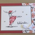 Celebrate - Graduation / Birthday Handmade Card - FREE POST