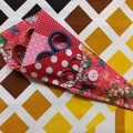 Handy Scissor Holder- Dotty floral print
