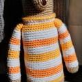 Crochet Teddy Bear, Teddy Bear Amigurumi, Soft Teddy Toy, Stuffed Teddy