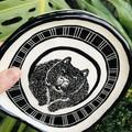 Large wombat  plate