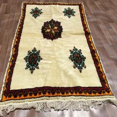 Yacoub Moroccan Wool Rug 130cm X 258cm