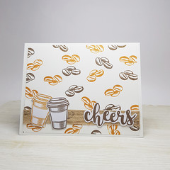 Coffee Lovers Birthday Card, Coffee Birthday Card, Unisex Birthday Card
