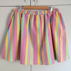 "Freya Skirt in ""Lil Rainbro"" – Size L"
