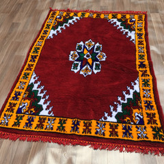 Yacoub Moroccan Wool Rug 122cm X 200cm