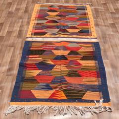 Moroccan Tribal Azilal Rug – Colourful Handmade 100% Wool Rug 112cm X 310cm