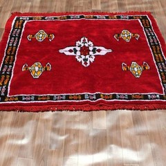 Yacoub Moroccan Wool Rug 160cm X 164cm