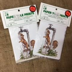 Paper Tole Prints (small) - Squirrel