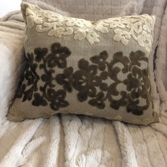 Jacquard Cotton Velvet cushion cover
