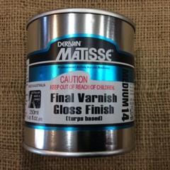 Derivan Matisse Final Varnish Gloss Finish