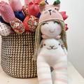 Lovely happy handmade Doll,  Smiling doll,Baby Shower, Birthday Gift