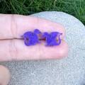 Dragon Ear Studs - resin, choose colour