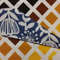 Handy Scissor Holder-Mixed blue print