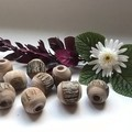 Toys of Wood- Handmade wooden medium bead
