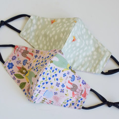 Homemade Kids Fabric Face Mask/Cotton Cloth Face Cover