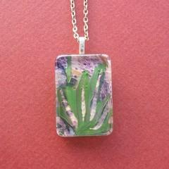 Beverley - painted pendant