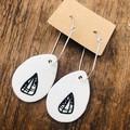 Moth Earrings