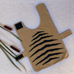 Large - Tasmanian Tiger Pet Coat – 'Tas Tiger' Brown