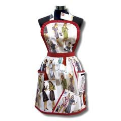 Fabulous 40's ladies apron traditional