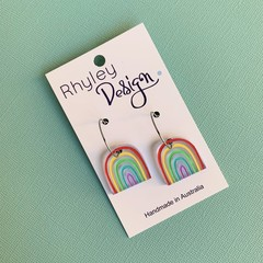 Colourful Rainbow Earrings