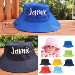 Personalised Kids Bucket Hat