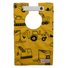 Dozers and Diggers Large Style Bib