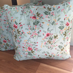 Boho floral pillow set (two pillows)