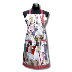 Fabulous 40's one piece ladies apron