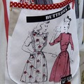 Fabulous 40's ladies apron traditional