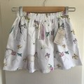 Little Girl Skirt with Pockets, Size 6