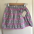Little Girl Skirt with Pockets, Size 8