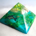 RESIN MINI PYRAMID Ocean Keepsake ! They Look really Awesome!