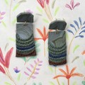 Polymer Clay Earrings - Statement Earrings Abstract