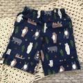 Little Boy Long Line Shorts, Size 1
