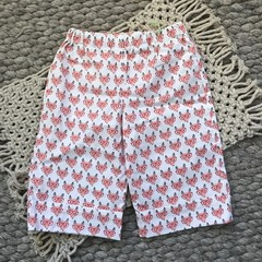Little Boy Long Line Shorts, Size 4