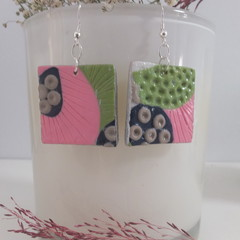 Colourful Mismatched Everyday Fashion Earrings