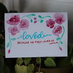 Loved 1 John 4:10
