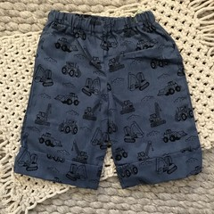 Little Boy Long Line Shorts, Size 2