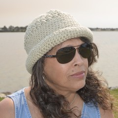 Crochet Sun Hat (for summer or winter)