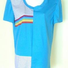 Block Front Tee Shirt