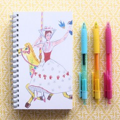 Handmade Notebook, Sketch Book, Journal, Diary, Fashion Illustration