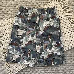 Little Boy Long Line Shorts, Size 3