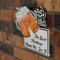 The Beer Monkeys Made Me Do It Reclaimed Timber Sign