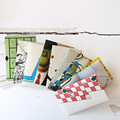 Reclaimed Envelopes Coin {50} | Stationery Set | Business Card Holders